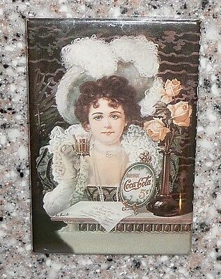 """Old Fashioned """"Drink Coca Cola, 5 cent"""", Refrigerator Magnet"""