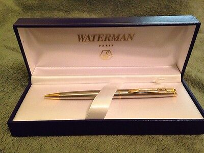 Waterman Hemisphere Stainless Steel Ballpoint Pen