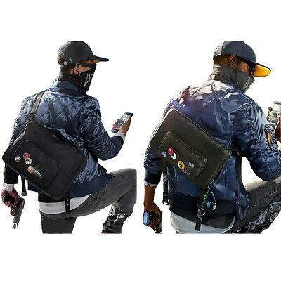 Watch Dogs 2 Marcus Holloway Cosplay Shoulder CrossBody Bag