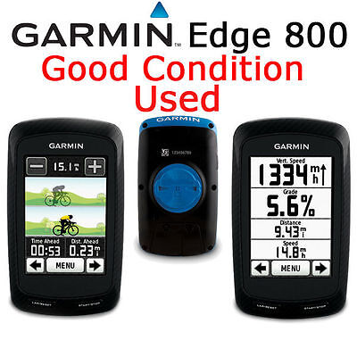 Garmin Edge 800 GPS Computer Device Only Road Bike Racing + Mount