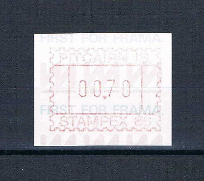 Pitcairn Is - 1986 - Stampex Meter - First for Frama -- MNH17