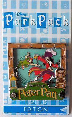 December 2015 Park Pack  Peter Pan and Captain Hook Variation 3 LE Pin