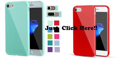 For iPhone 7 7 Plus Shockproof Soft Slim Silicone TPU Rubber Cover Phone Case