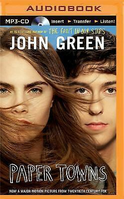 Paper Towns by John Green (2014, MP3 CD, Unabridged)