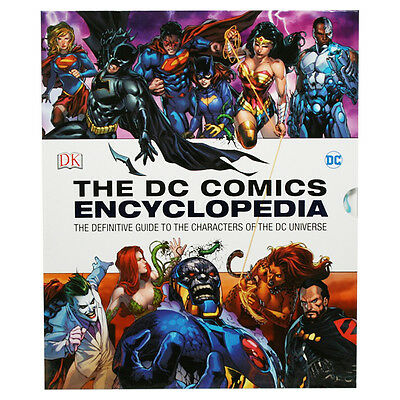 Dc Comics Encyclopedia new Edition by Dk Hardcover Book FREE EXPRESS SHIPPING
