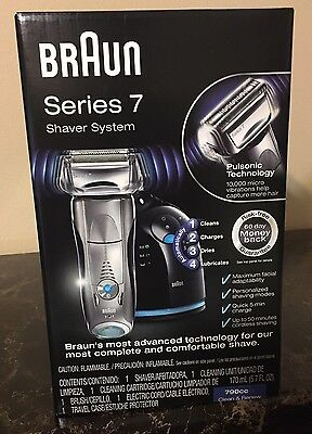 Braun Series 7 790cc Cord Cordless Rechargeable Men's Electric Shaver Foil 720