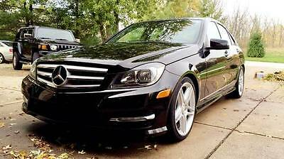 2012 Mercedes-Benz C-Class 4MATIC with AMG Kit 2012 Mercedes C300 4MATIC