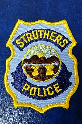 Struthers, Ohio Police Shoulder Patch Oh