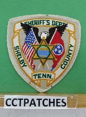 Shelby County, Tennessee Sheriff Police Shoulder Patch Tn
