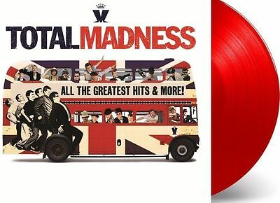 Madness - Total Madness 2x RED COLOURED vinyl LP Best Greatest Hits