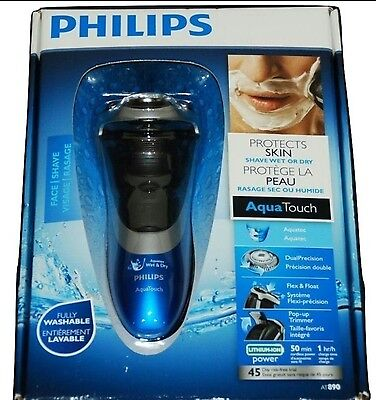 Philips Aquatouch Wet and Dry Electric Shaver AT890