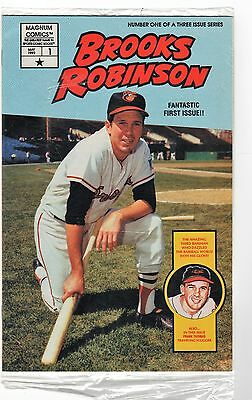 Brooks Robinson Magnum Comics #1 May 1992 Factory Sealed with Cards