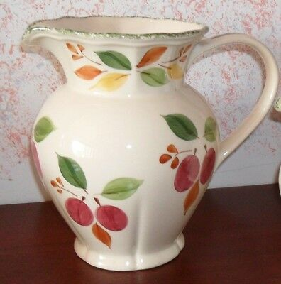 Marks and Spencer M & S Large Damson Pitcher jug  Sangria water excellent condit
