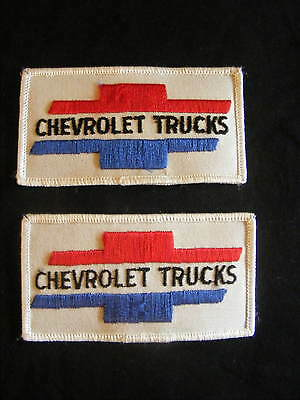 Vintage Chevrolet Trucks Sew On/ Iron On Patch Badge x 2