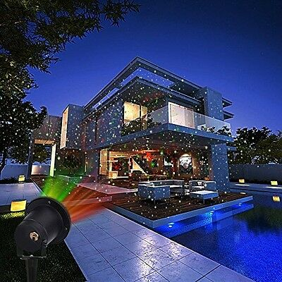 12 Patterns Moving Projector LED Lights Christmas Outdoor Decoration & Halloween