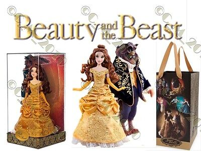 Disney Limited Edition Belle And Beast Fairytale Designer Doll 6,000