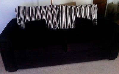 2 Piece Couch - 1 Three Seater & Arm Chair