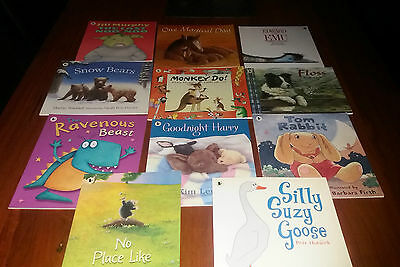 Bulk Lot of Children's Animal Theme Picture Books by Walker Books - As New
