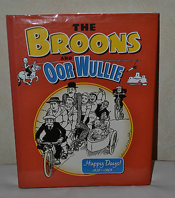The Broons and Oor Wullie Happy Days Hardback Annual 1936-1969