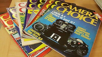 Vintage Camera Choice Magazine May to December 1982