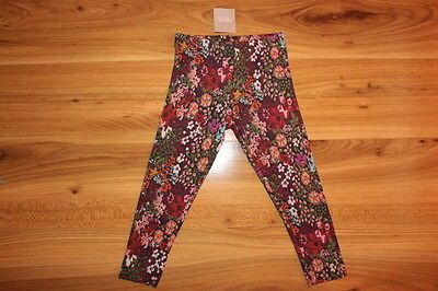 NEXT girls floral leggings 2-3 years NEW *I'll combine postage