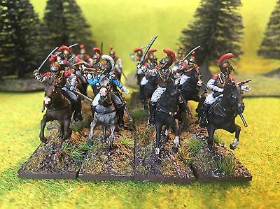1/72 Napoleonic plastic painted French Carabiniers
