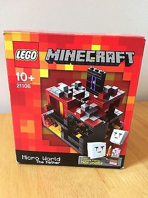 Lego Minecraft Micro World 21106 The Nether New and sealed retired set