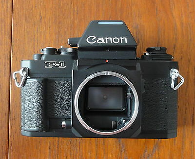 Rare Ancien Boîtier Photographique CANON F-1 New. Vintage Camera CANON F-1 New.