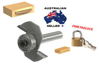 """Slot Cutter/ biscuit joiner Router Bit 3.9 mm  1/4'' x 5/32""""  FREE PAD LOCK"""