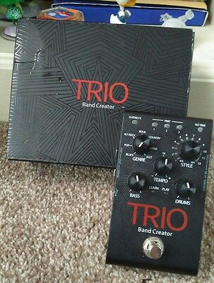 Digitech Trio Band Creator guitar pedal