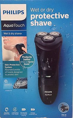 Philips AquaTouch wet and dry electric shaver AT899/06 with pop-up trimmer