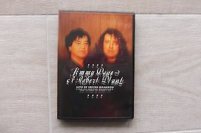 Jimmy Page & Robert Plant Live at Irvine Meadows Rare DVD