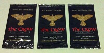 The Crow Trading Card Packs x 3