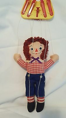 Raggedy Andy push button marionette