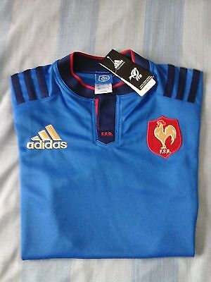 Maillot Adidas Rugby France Neuf M