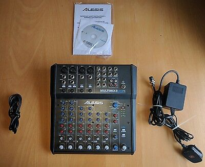 Alesis Multimix 8 USB_Mixer/Audio interface with FX