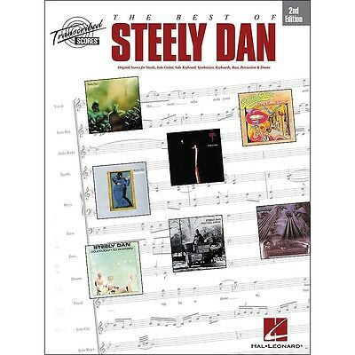 Hal Leonard The Best of Steely Dan 2nd Edition, Transcribed Score Songbook