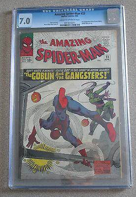 Amazing Spider-Man #23 Cgc 7.0 3Rd Appearance Green Goblin Stan Lee/steve Ditko