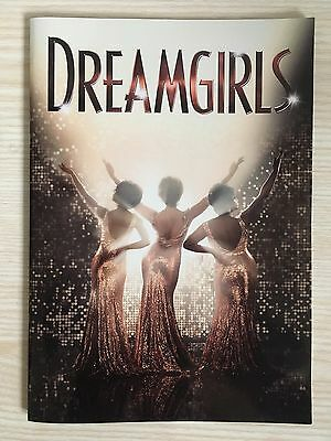 Dreamgirls The Musical Programme - Savoy Theatre, London - Amber Riley