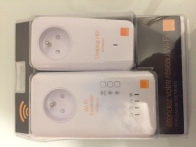Wifi Extender Cpl Liveplug Hd+ Duo 500Mbits/s