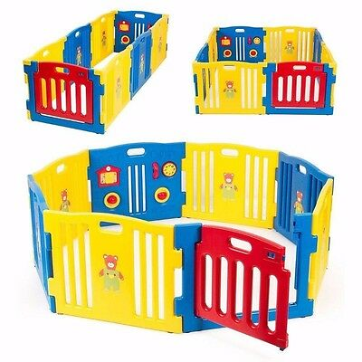 (CHEAP!!!) Baby Playpen Kids 8 Panel Safety Play Center Yard Home Indoor Outdoor