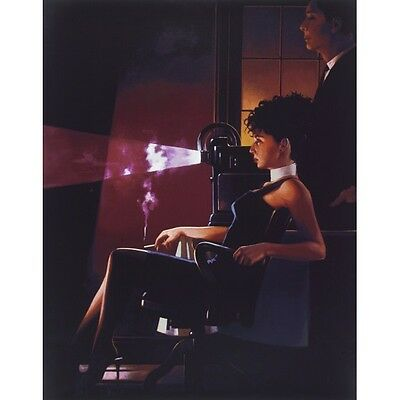 """Jack Vettriano """"an Imperfect Past"""" Rare Signed Limited Edition,  Investment Art"""