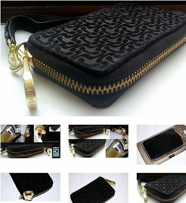 Original TED BAKER Purse Phone Suede leather  1st class post