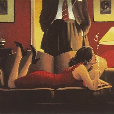 """Jack Vettriano """"parlour Of Temptation""""  Signed Limited Edition,  Investment Art"""