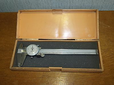 Mitutoyo Metric 150mm Dial Vernier Caliper - made in Japan!!