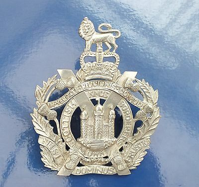A Very Large QE11. King's Own Scottish Borderers Badge.( see details)