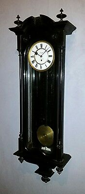 Biedermeier Vienna Regulator Wallclock