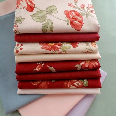 Quilter's First Col Vintage Floral Roses by Lecien Japanese Fabric Cotton