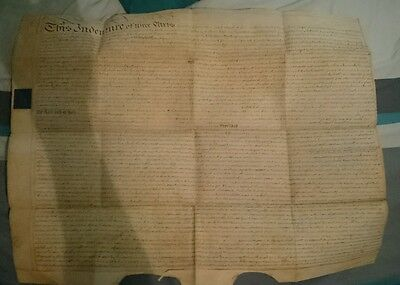Indenture for Mary Jerom of Nottingham 1783 Four Hundred pounds, womens history