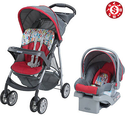 Baby Stroller and Car Seat 3in1 Travel System 22 Infant Carriage Buggy Bassinet